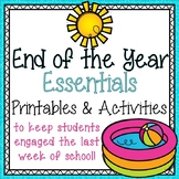 End of the Year Essentials {Printables & Activities}