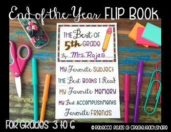 End-of-the-Year Flip Book