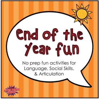 End of the Year Fun!