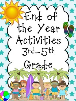 End of the Year Fun Activities