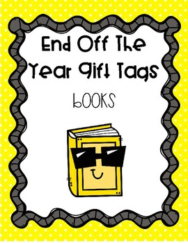 End of the Year Gift Tags - Dig