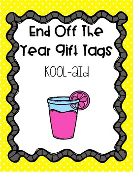 End of the Year Gift Tags - Kool Summer