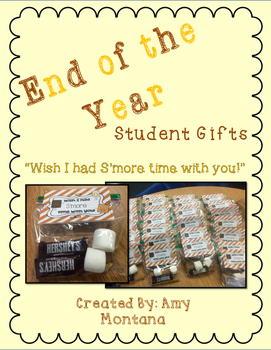 End of the Year Gift {Wish I Had S'more Time With You!}