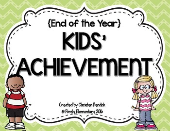 End of the Year Kids' Achievement Awards