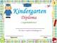 End of the Year Kindergarten Graduation Certificates: