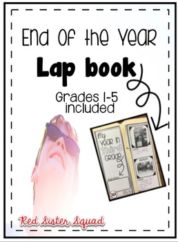 End of the Year Lapbook Freebieee