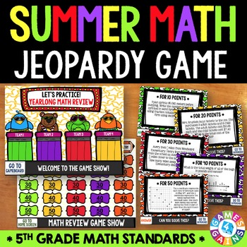 End of the Year Math: 5th Grade Math Review