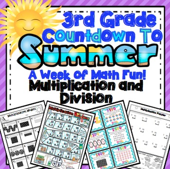 End of the Year Math:  Multiplication and Division Review