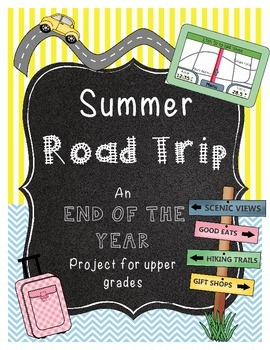 End of the Year Math Project For Upper Grades *Cleveland*
