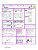 Daily Math Review--End of 2nd Grade-Common Core