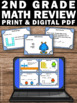 2nd Grade or Special Education Math Review Task Cards Cent