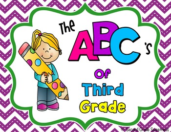 End of the Year Memory Book {ABC's of Third Grade}