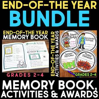 Memory Book & End-of-the-Year Activities