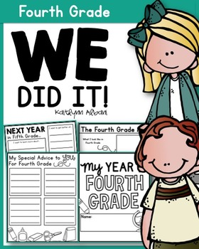 End of the Year Memory Book Pages [Fourth Grade]
