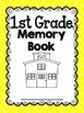 End of the Year Memory Book for Firsties