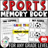 End of the Year Memory Book Activity {Grades 3-6}