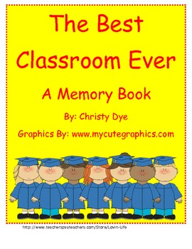 End of the Year Memory Booklet FREEBIE