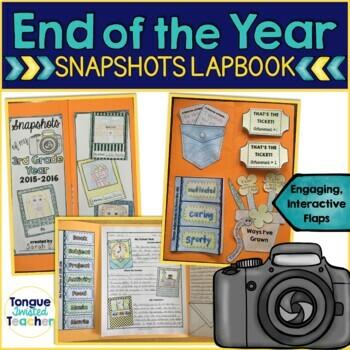 End of the Year Activities - Memory Lapbook Keepsake {Grad