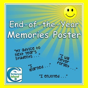 End-of-the-Year Mini-Poster Activity