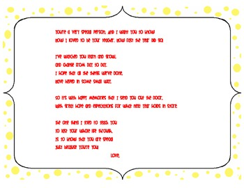 End of the Year Poem