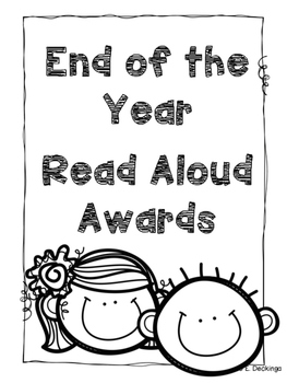End of the Year Read Aloud Awards