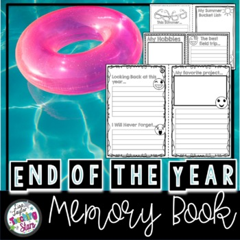 End of the Year Memory and  Autograph Book 2015-2016