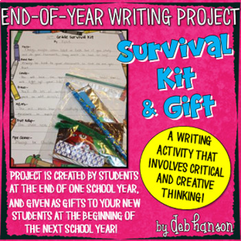 End of the Year Writing Activity: A Creative Writing Survi