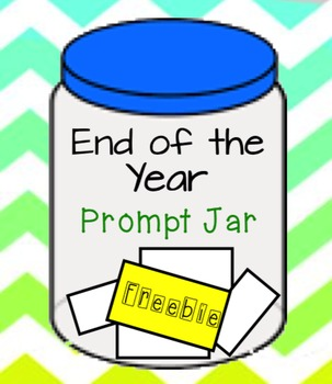 End of the Year, Writing Prompt Jar
