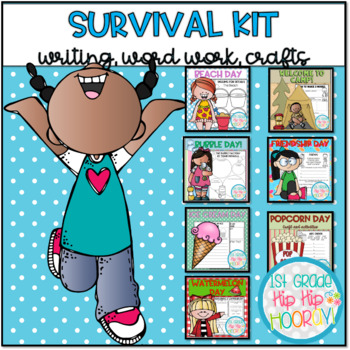 End of the Year...Survival Kit... 7 Fun Filled Themed Days!