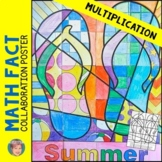 End of the Year Activities - Multiplication Review Collabo