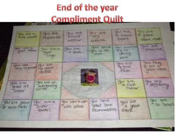 End of year Compliment Quilt