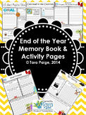 End of year Memory Book, Great REFLECTIONS!
