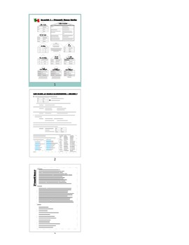 End of year Printable Review Study Guide and Worksheet / Q
