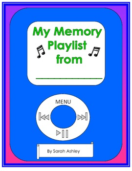End of year iPod memory playlist book
