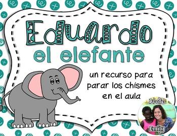 End tattling! Spanish poem & poster