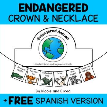 Endangered Animals Necklace Craft