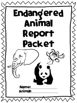 Endangered Species Report Packet