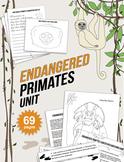 Endangered Species Unit: Primate Lesson Plan