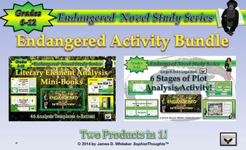 Endangered by Eliot Schrefer Activity Bundle
