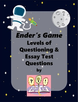 Ender's Game: Levels of Questioning & Novel Test Bundle