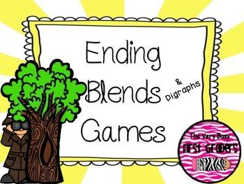 Ending Blends & Digraphs Games