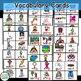 Ending Blends Word Work Cards & Vocabulary Cards for Liter