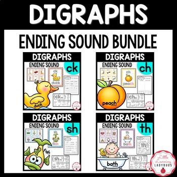Ending Digraph Bundle {/ch/, /ck/, /sh/, /th/ resources &
