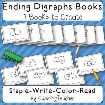 Ending Digraphs Books {7 Books to Create}