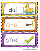 Ending Digraphs CH and CK Task Cards