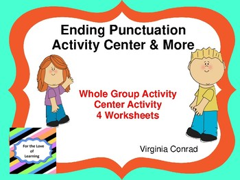 Ending Punctuation Activity Center and MORE