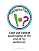 Freebie Ending Punctuation Minilesson and Activities (Grad