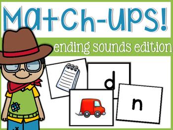 Ending Sound Match-Ups