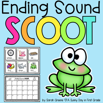 Ending Sound Scoot {Task Cards!}