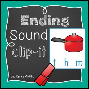Ending Sounds Clip-It